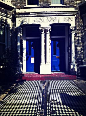 LondonDoors at John Jones by Esther Carreira Martin