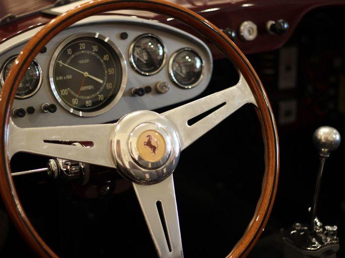 Ferrari Vintage Vintage Cars Antique Antique Car Antique Ferrari Vintage Ferrari Steringwheel Cockpit