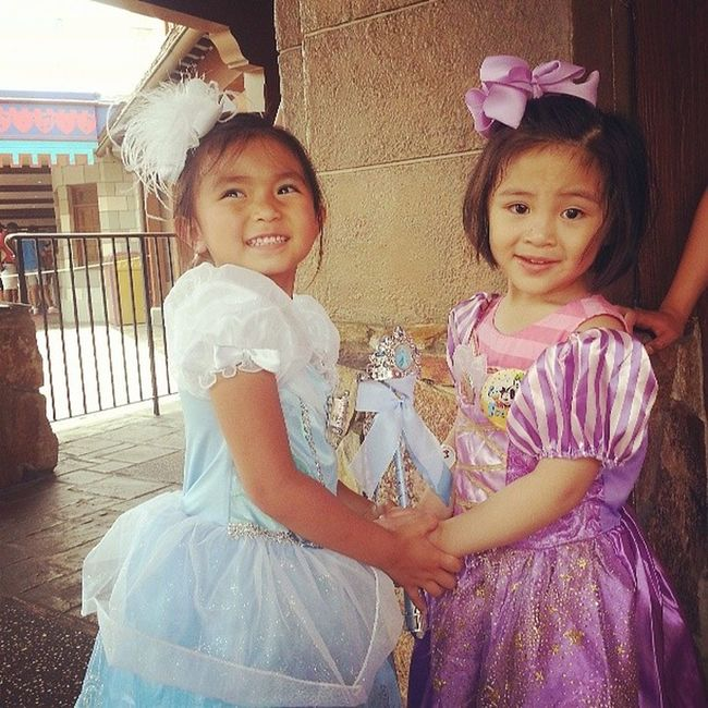 Our very own little Princesses ♥