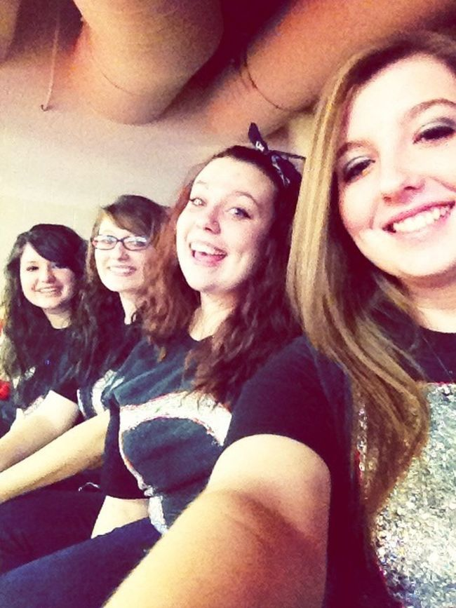Spirit day with the girls.