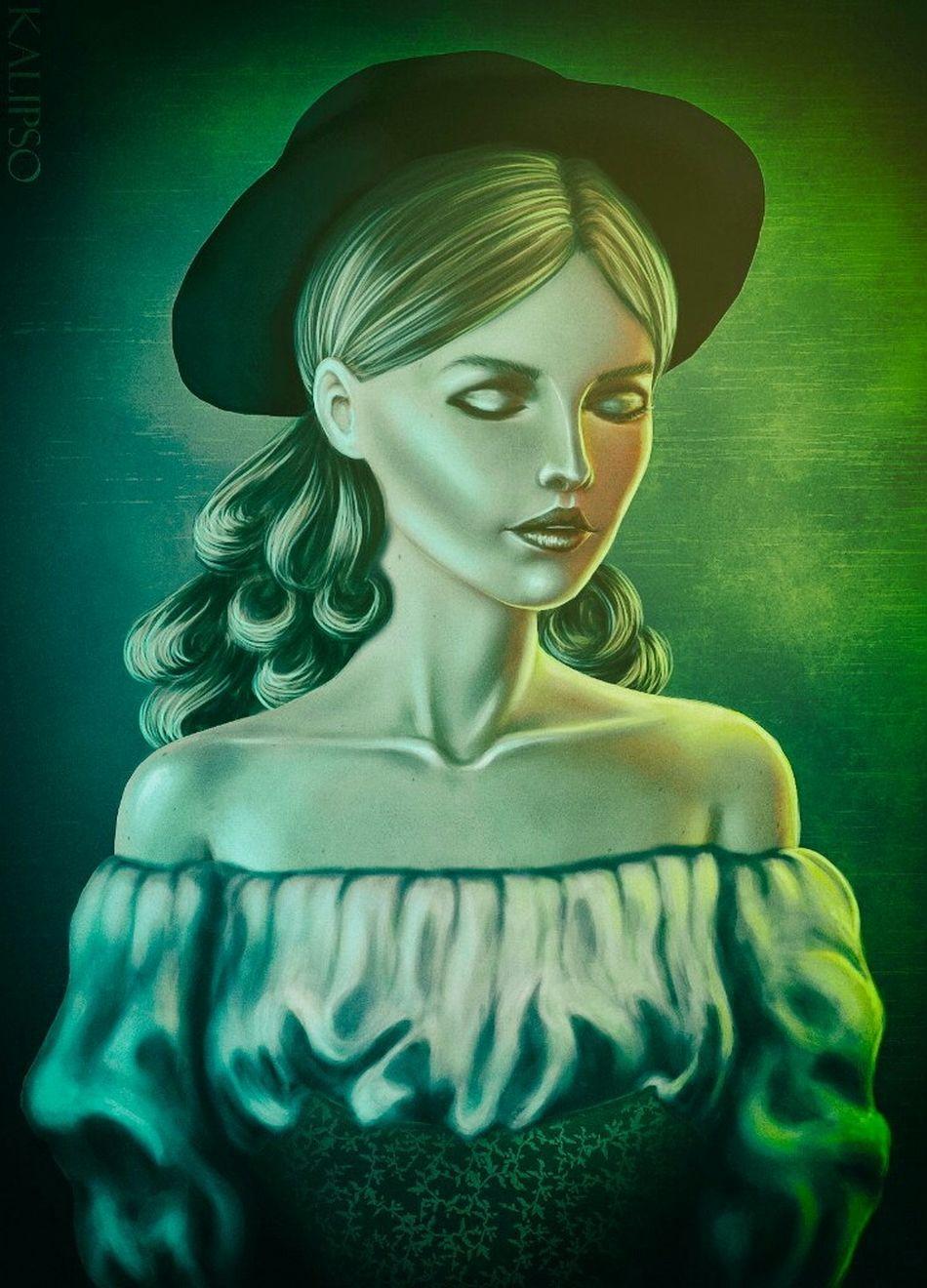 Art Sims Digital Art Photoshop Digital Portrait