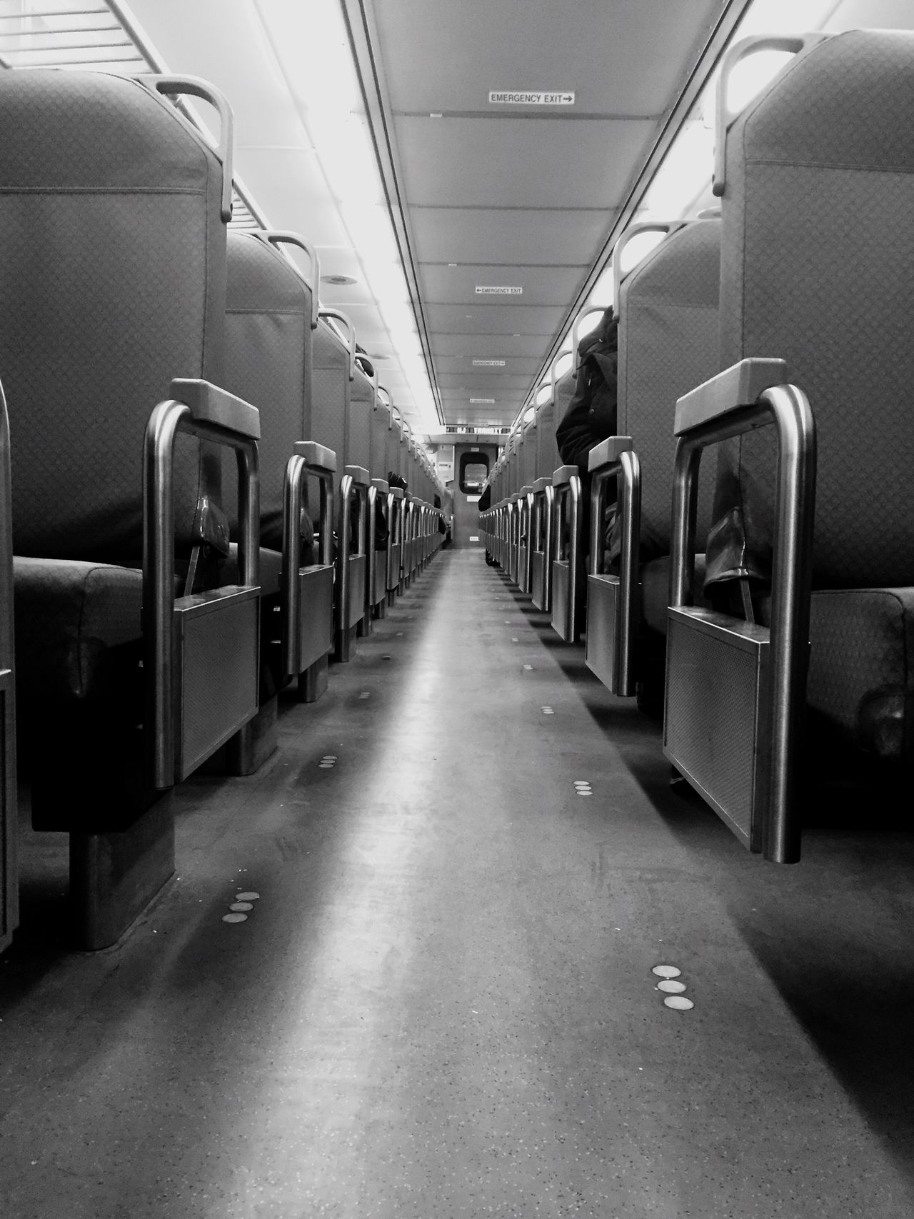 Transit Transportation Mode Of Transport Vehicle Interior Travel Blackandwhite Public Transportation Train - Vehicle Commuter Train Passenger Train Subway Train Train Interior Indoors  People Day EyeEmNewHere NYC