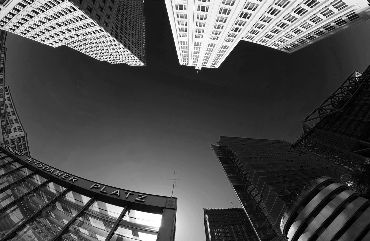Sundaybnwfisheye Architecture Architecture Architecture_bw Architecture_collection Architecturelovers Black And White Blackandwhite Blackandwhite Photography Bnw Building Building And Sky Building Exterior Built Structure Cityexplorer Cityscapes Fisheye Lookingup Low Angle View Modern Modern Architecture Monochrome The Architect - 2016 EyeEm Awards Perspective Urban Geometry Urbanphotography