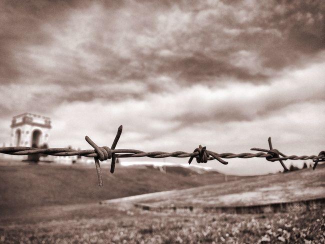 Beautiful shot of WW1 ossarium embedded in deep black and white photography. Blackandwhite Sad Emotions First Eyeem Photo
