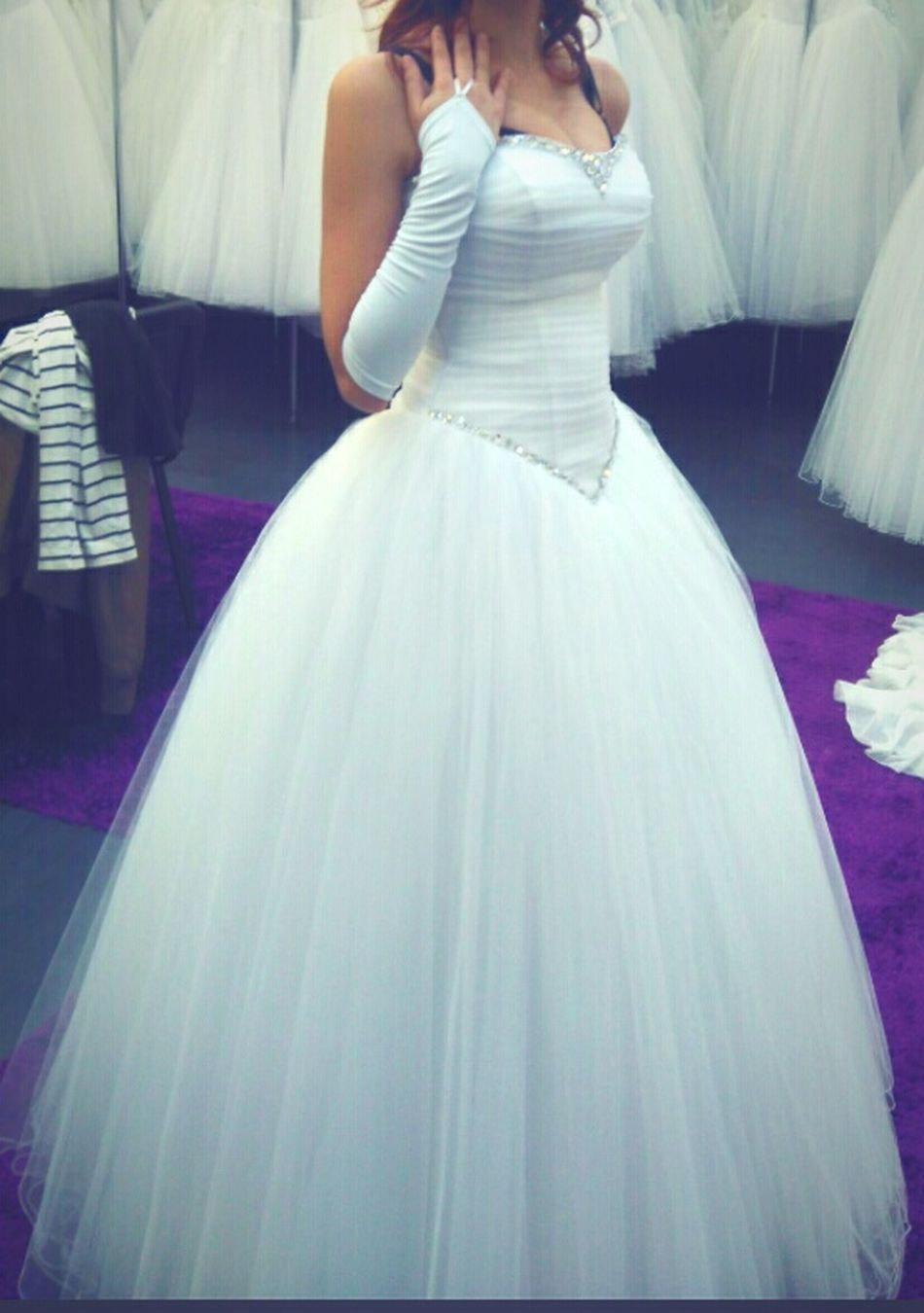 Hello World Nice White White Dress In A White Dress Prom Promdress Promdressshopping Waltz Dress That's Me First Eyeem Photo