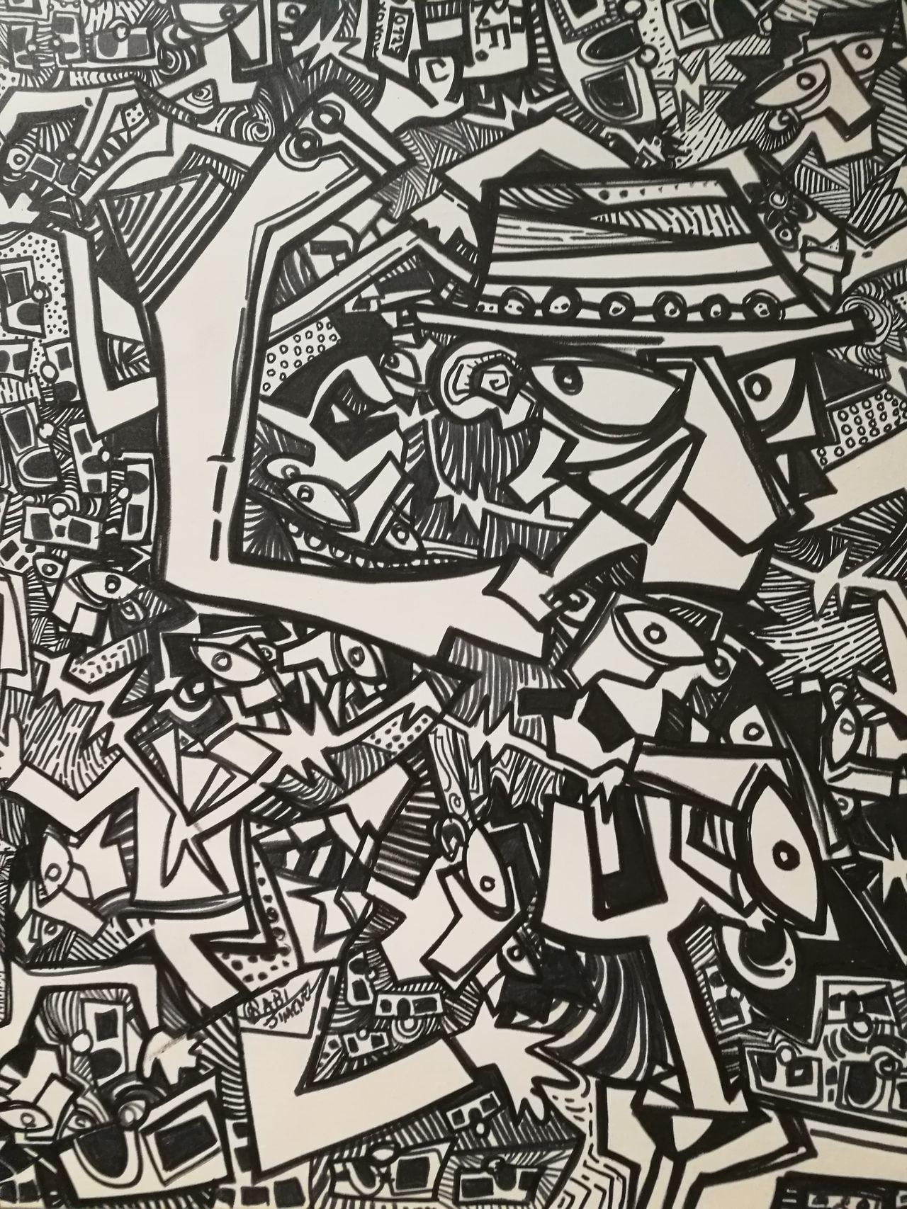 Abstract Paper No People Madrid Sketch Pattern Backgrounds Palacio De Cibeles Black & White Modernart