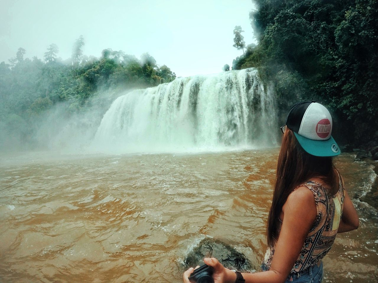 Live For The Story got this chance of witnessing this glorious beauty. Travel Vacations Summer Waterfall Adventure Rear View Beauty In Nature Nature Outdoors Philippines Travel Photography EyeEmMagazine EyeEm Best Shots Eyeem Philippines BisligCity SurigaoDelSur