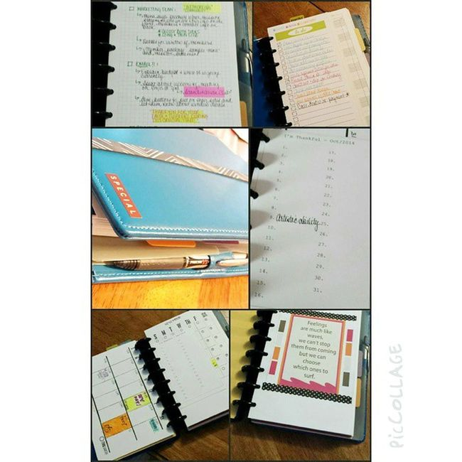 It's official. I am addicted to my planner. Arcplanner Organization