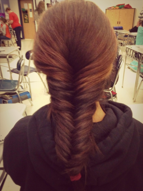 My Fishtail Braid!