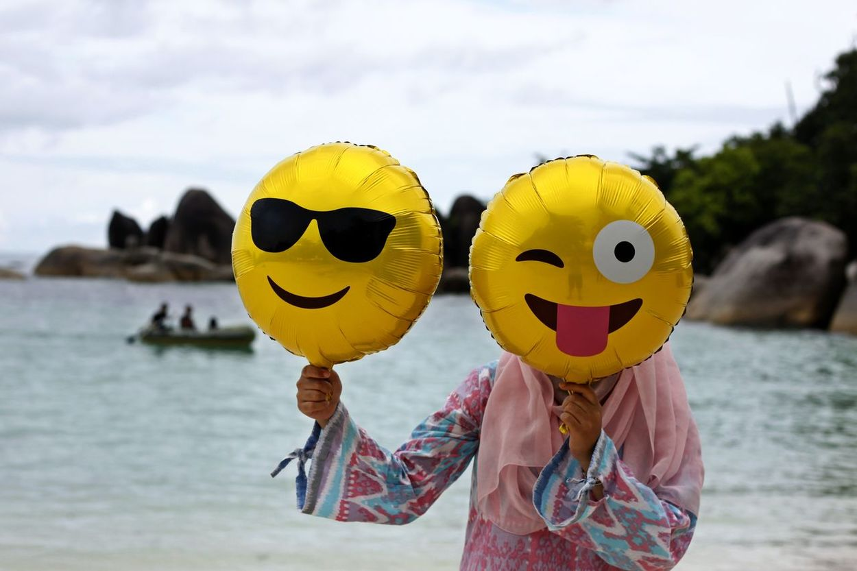 Anthropomorphic Face Anthropomorphic Smiley Face Day Emoticon Emoticon Face Emoticons Outdoors People Smiling Yellow