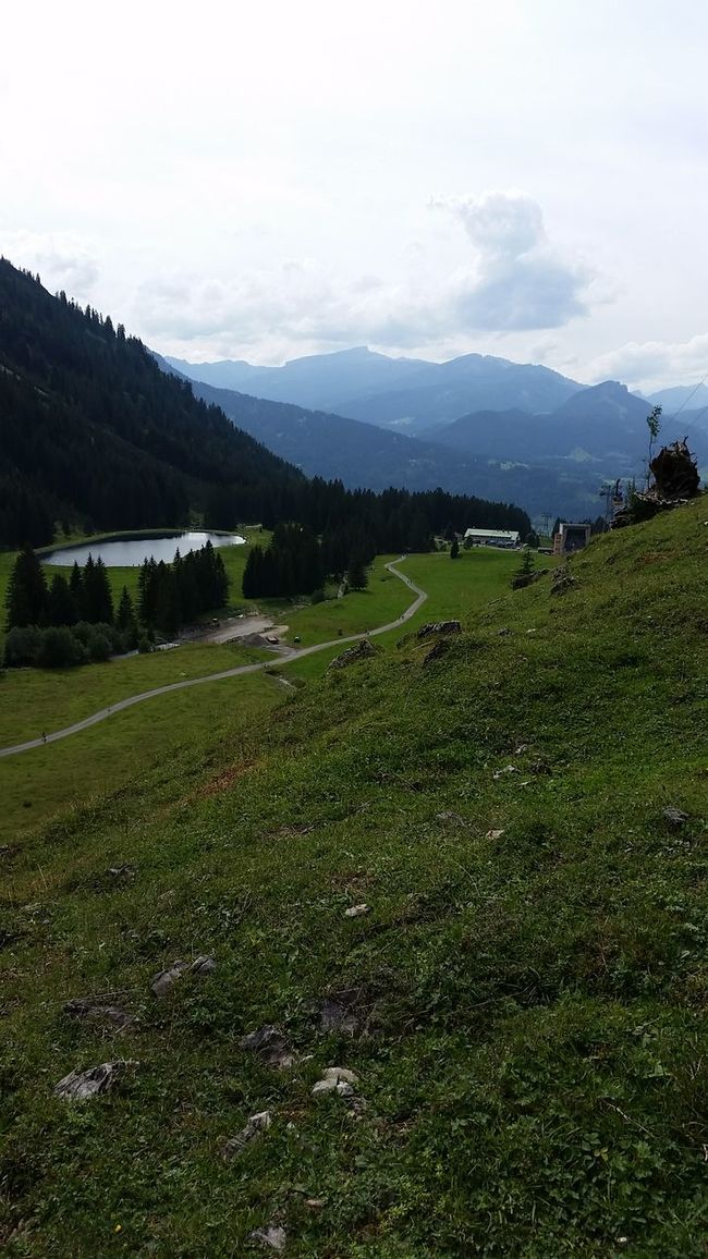 Alpen Oberstdorf Allgäu Bergsee Wanderlust