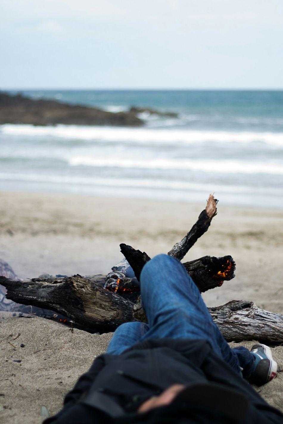 Fogon Bonfire Morning Beach Morning Beach Sleepy Waiheke Island