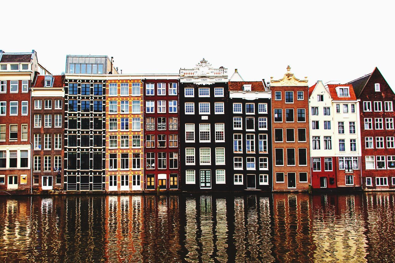 Amsterdam Urbanphotography Urban House Eye4photography  Reflection Houses In A Row City Canal From My Point Of View Urban Sight Reflections In The Water Reflection_collection Reflected Glory ReflectionPerfection! Colorful