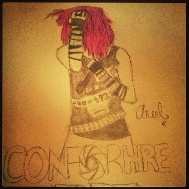 Ariel from Iconforhire Purplehair Drawing