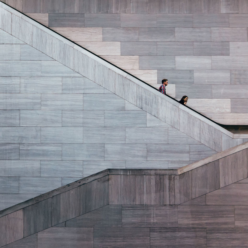 National Gallery of Art in Washington, DC Architecture Leisure Activity Museum National Gallery Of Art Real People Staircase Steps Steps And Staircases