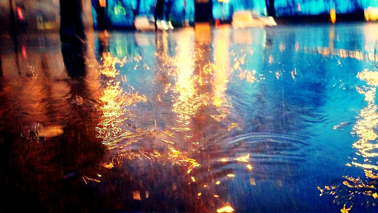 Water Wet Backgrounds Reflection No People Drop Rain Full Frame Rainy Season Sunset Close-up Nature Day Evening Dark London Westminster Adapted To The City