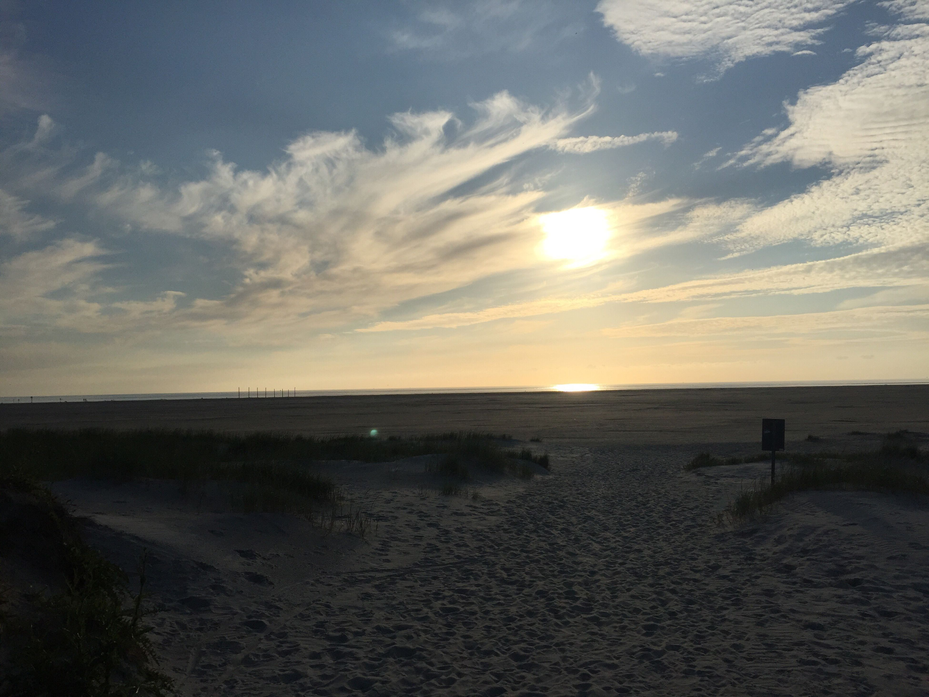 beach, sea, sand, nature, horizon over water, sunset, water, sky, beauty in nature, outdoors, tranquility, scenics, cloud - sky, no people, tranquil scene, day