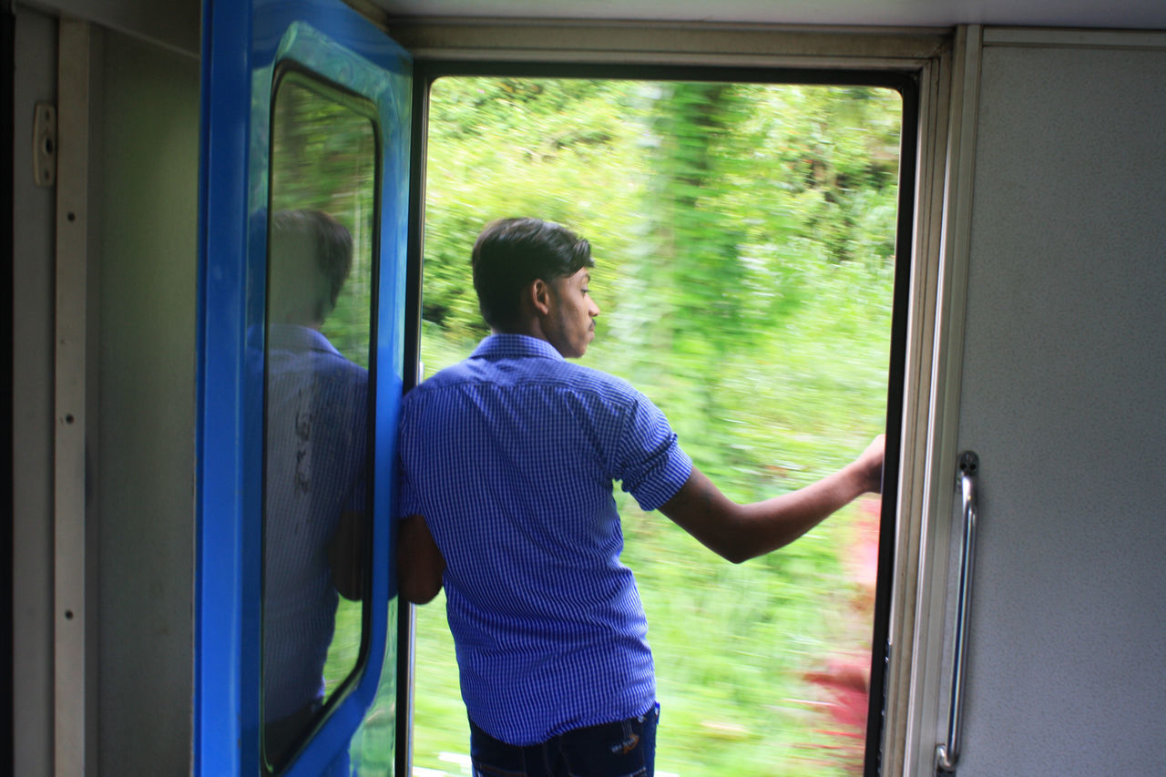 From Colombo to Kandy - Train Ride - 2016 Adult Adults Only Art Artsy Day Indoors  Movement One Man Only One Person Only Men People Rear View Sri Lanka Sri Lankan SriLanka Train Train Ella Train Kandy Train Ride Train Ride Sri Lanka Train Srilanka Train Station Transportation Travel Window First Eyeem Photo