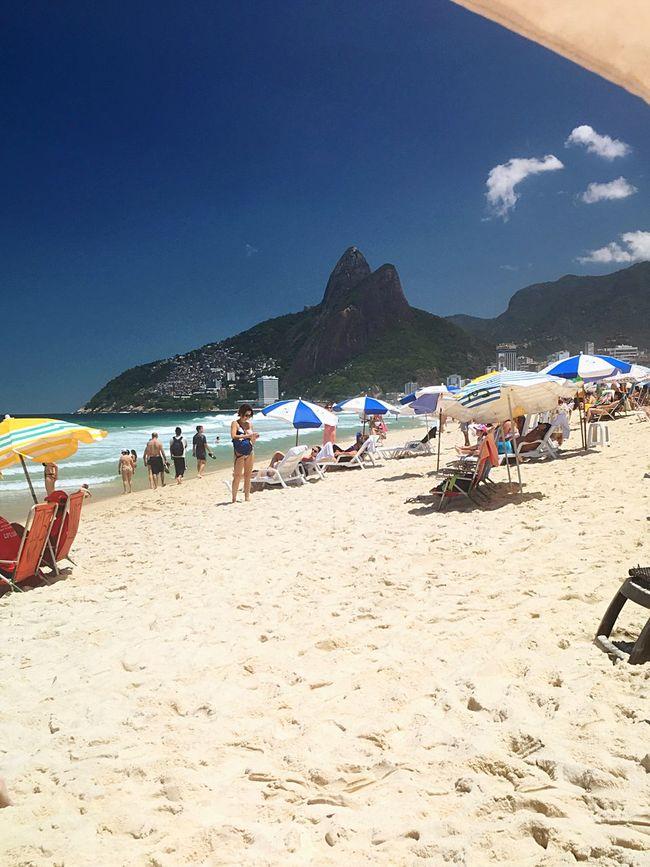 Ipanema Beach Praia De Ipanema Playa Beach Spring Primavera Rio De Janeiro Travel Vacations