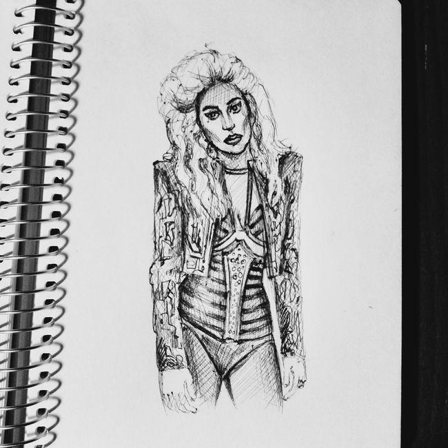 Sketchbook Quicksketch Ladygaga Pen