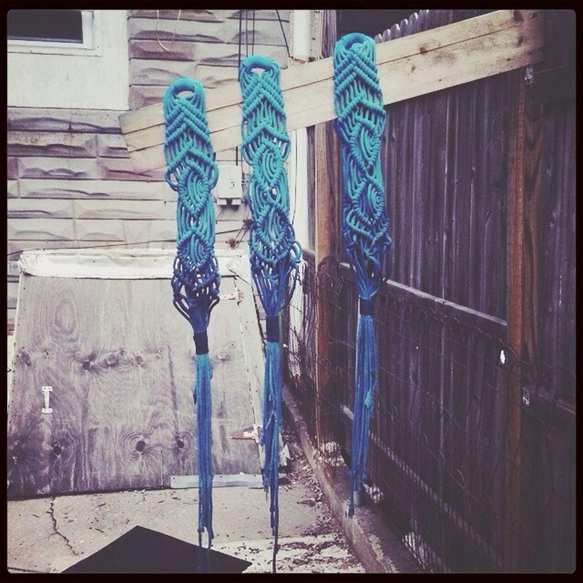 R A Y M I L L Z. Macrame Urban Knitting Ombre