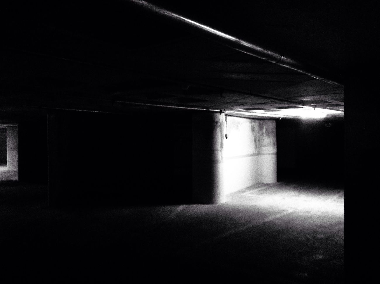 Hanging In The Dark Blackandwhite Check This Out Light And Shadow