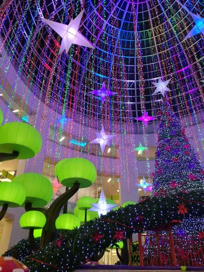Holiday - Event Christmas Decoration Christmas Market Multi Colored Lights Christmas