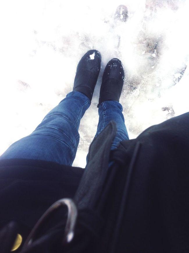 Walk walk walk ? Snow ❄ Winter City