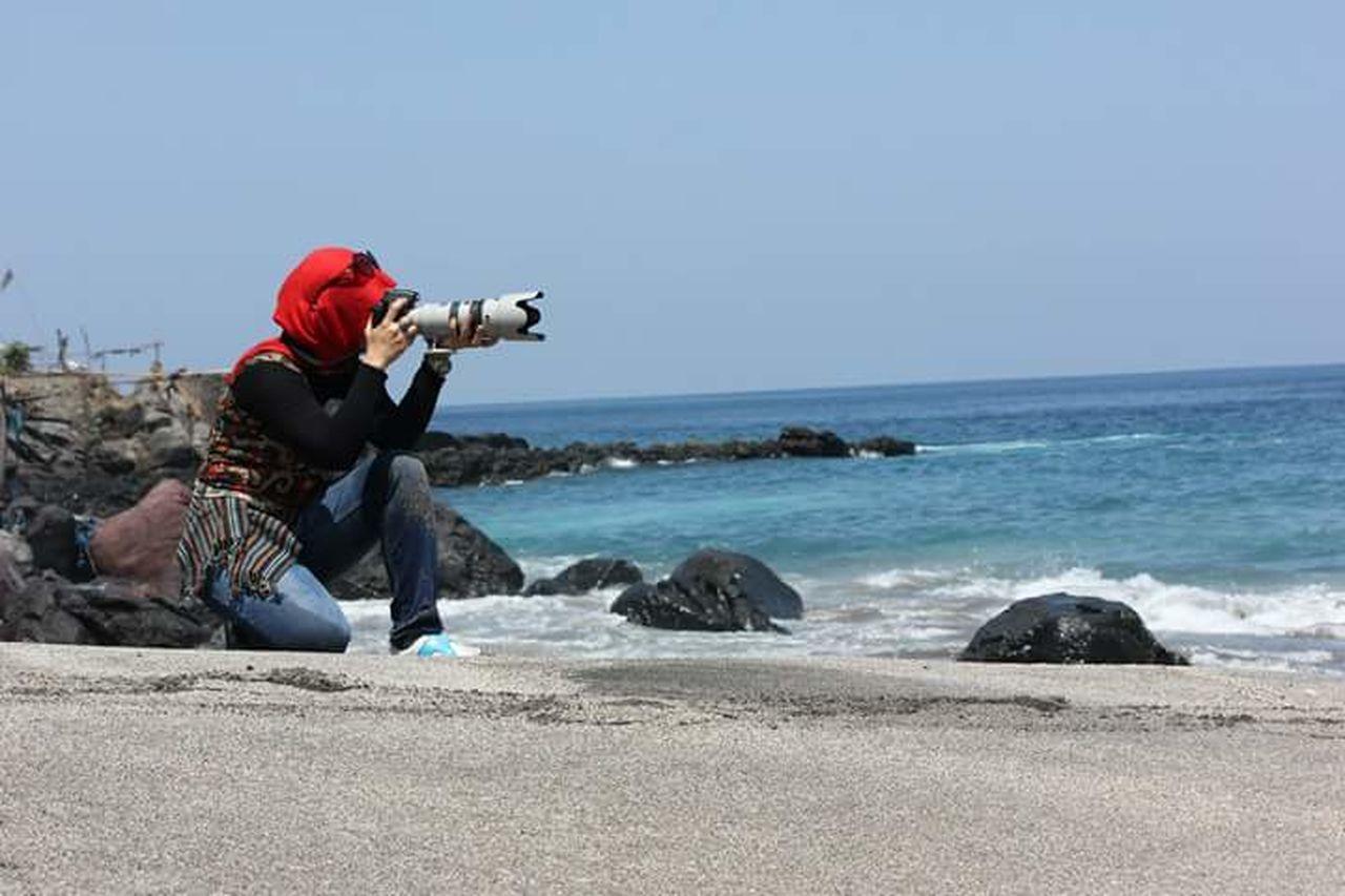 Beautiful stock photos of wal, full length, sea, horizon over water, beach