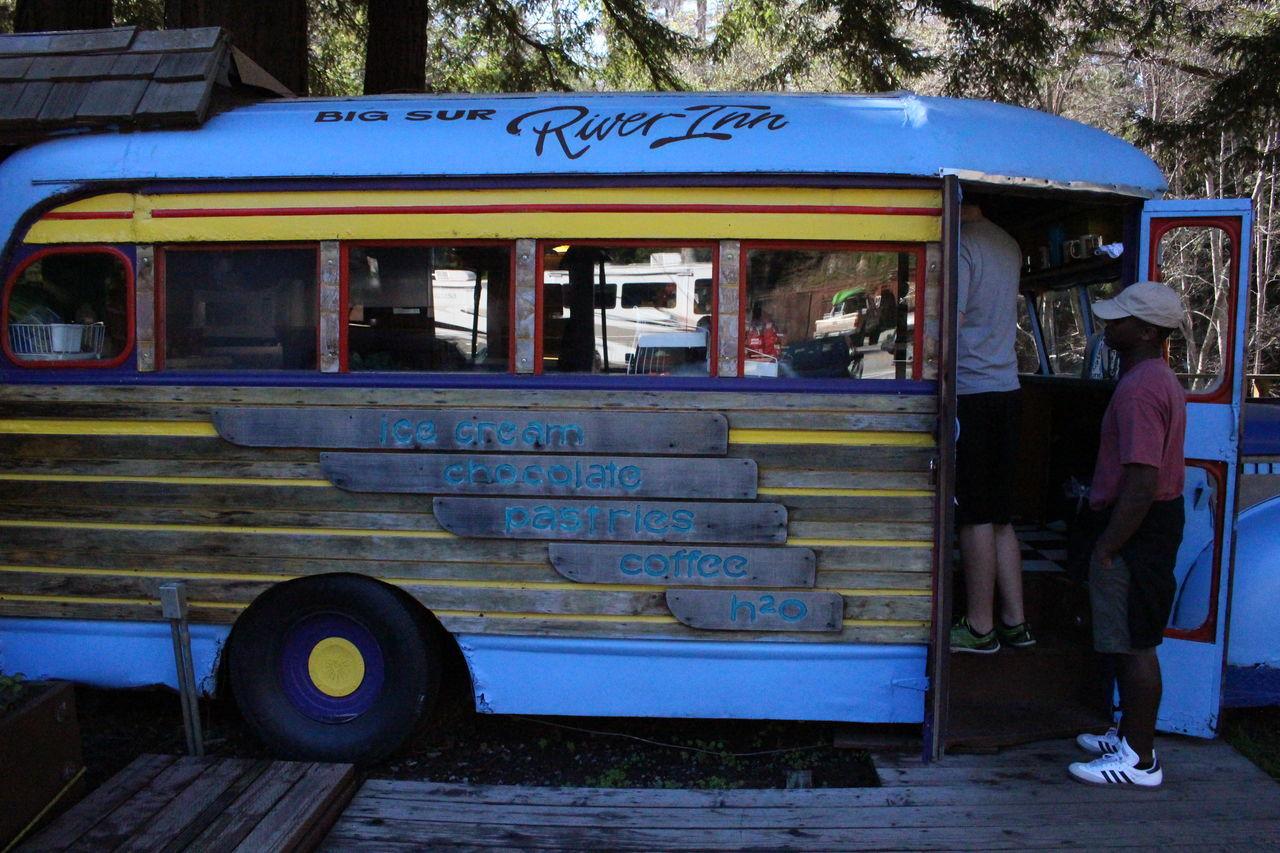 Big Sur, Ca. Freshness Ice Cream Ice Cream Truck Real People
