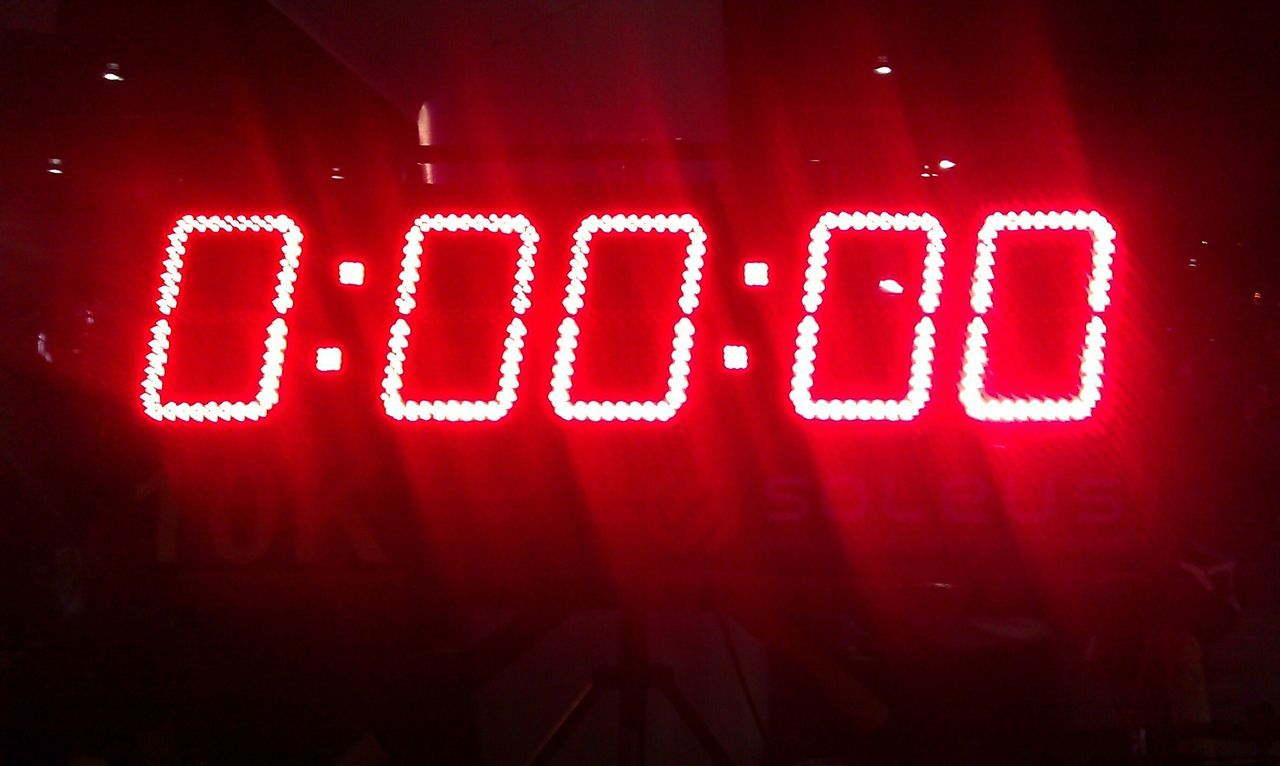 Red Digital Display Start Starting Line Race Zeropoint Point Of Origin Run