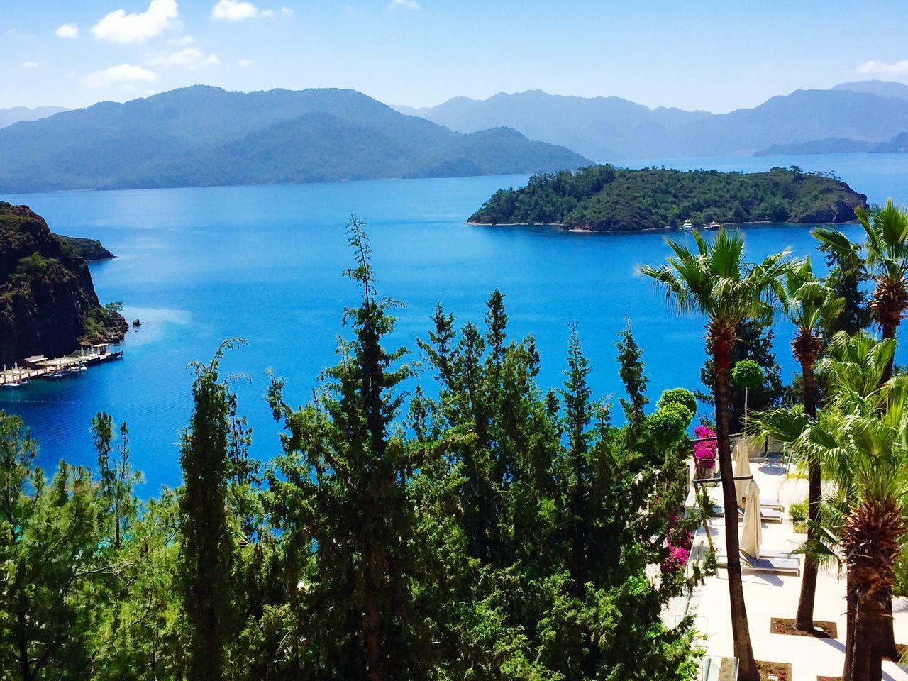 Calm Sea Sea Island Green Nature Mobile Photography Mobilephotography IPhoneography Landscape Landascape Landscapes