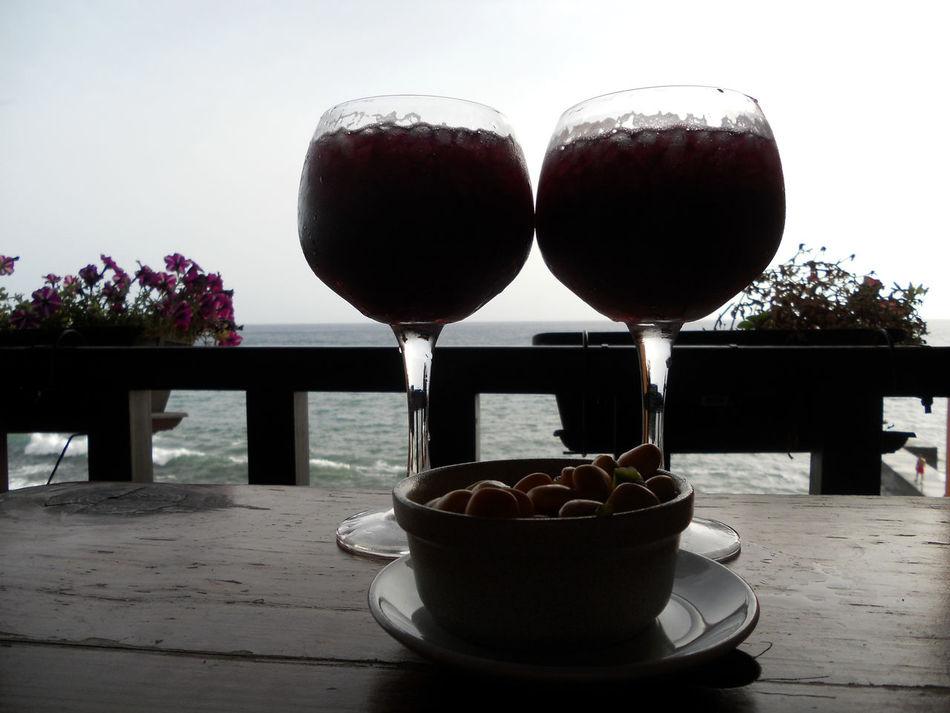 Freshness Sangrias Madeira Drink Wine Bar Paul Do Mar
