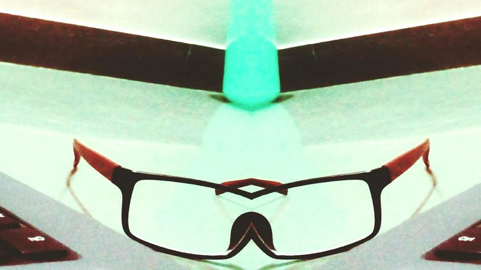 Mirror Effect Magic Creative Glasses Reflect Smile Cartoonized