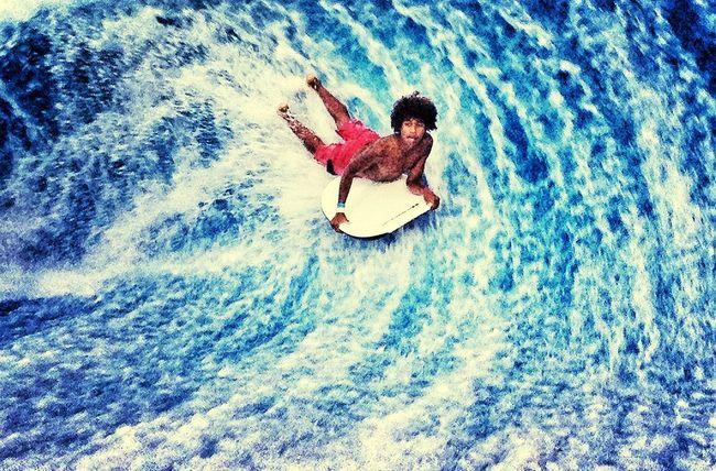 Surfeando!