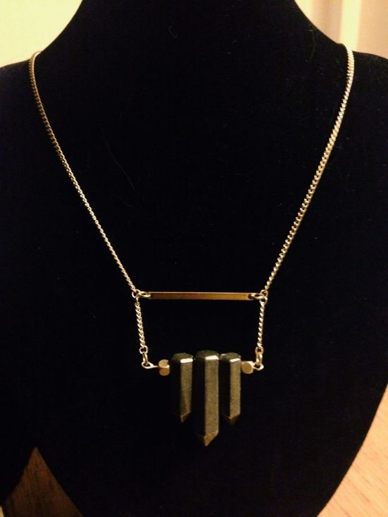 Custom piece Qzlab Handmade Jewellery Jewelry Designer Necklace