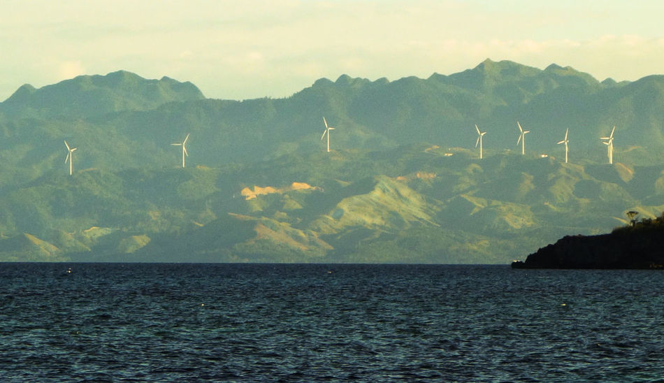 Aklan Caticlan Envision The Future Mountain Mountain Range Non-urban Scene Ocean Scenics Sea Seascape Water