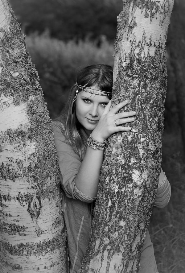 Portrait Girl Nature