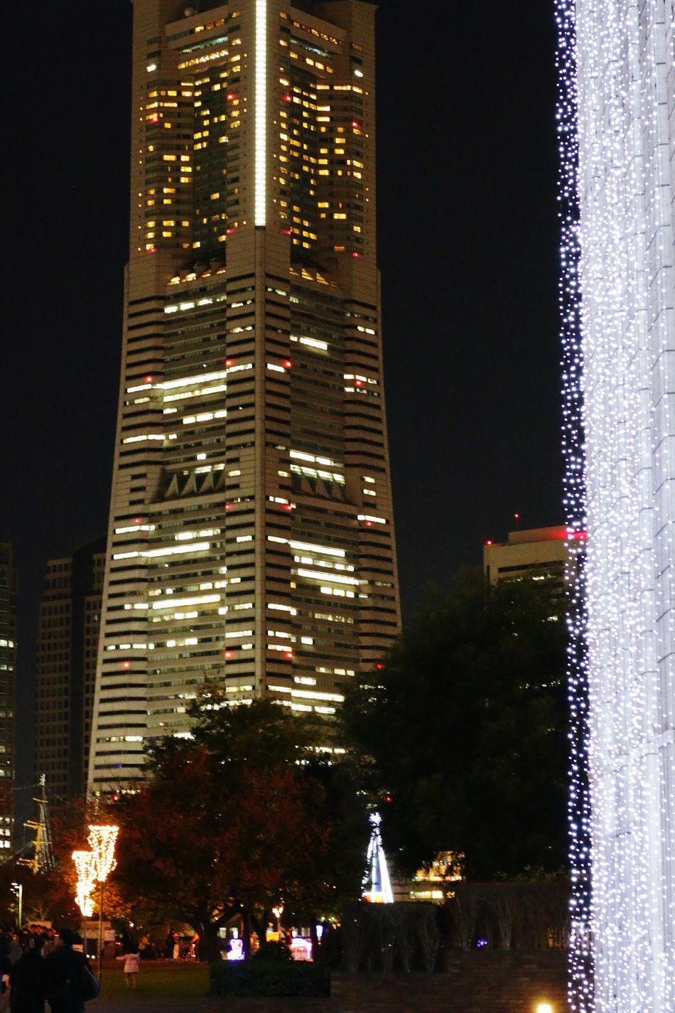 Yokohama キラキラ イルミネーション2015 横浜ランドマークタワー Illumination Japan Light