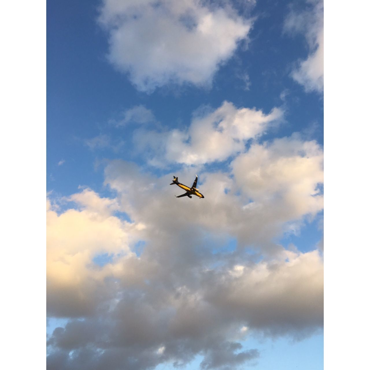 Flying Airplane Transportation Cloud Sky Aircraft Travel Low Angle View Journey Airways No People Flight Air Vehicle Day Cloud - Sky Outdoors Nature Airplane Wing