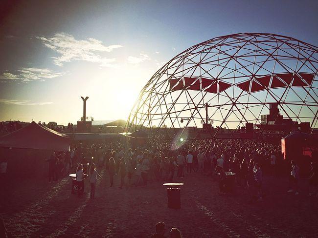 Straf_Werk festival Festival Season Amsterdam Sunset Beach