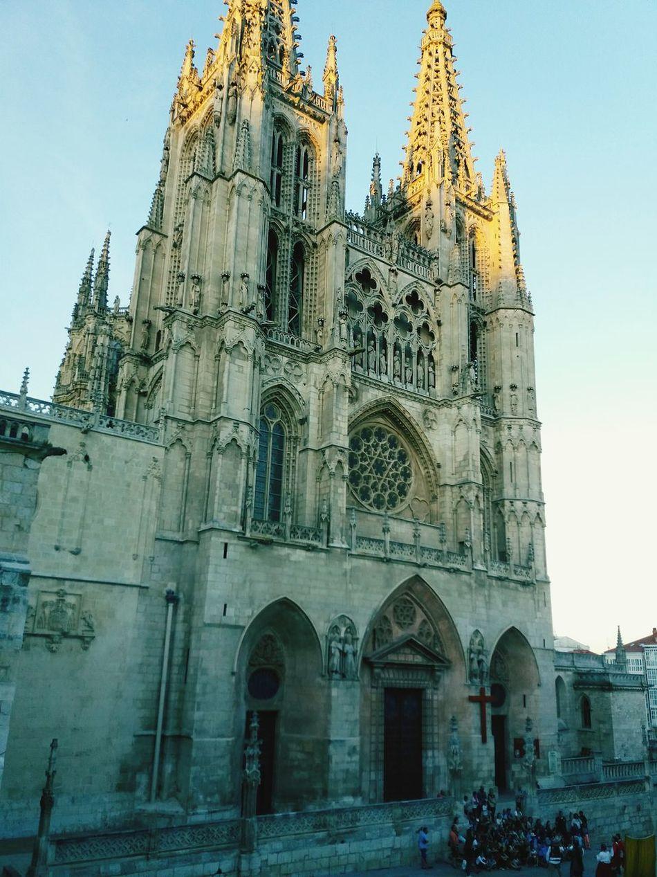 El gigante de piedra apuntillado Catedral De Burgos Cathedral Burgos Stone Gigant