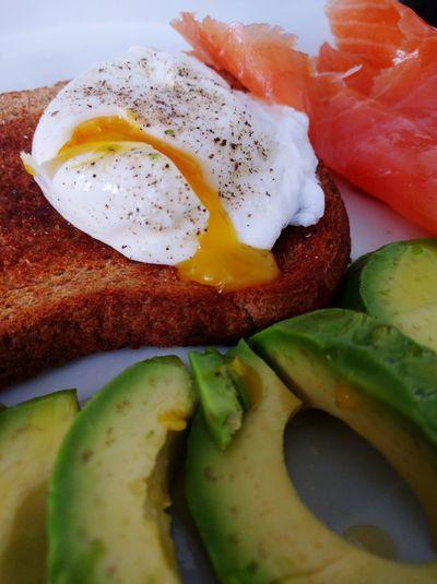 Breakfast Egg Smoked Salmon