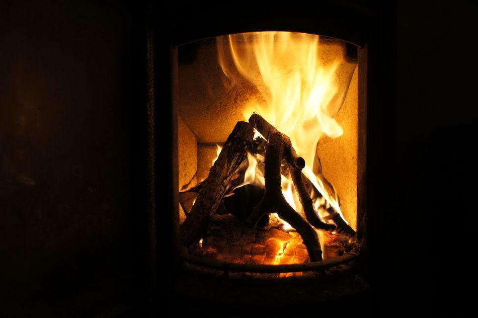 Beautiful stock photos of fireplace, Burning, Close-Up, Dark, Fire