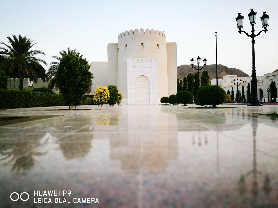 Being A Tourist Sightseeing Sultan Palace Taking Photos Landscape_Collection Oman_photography