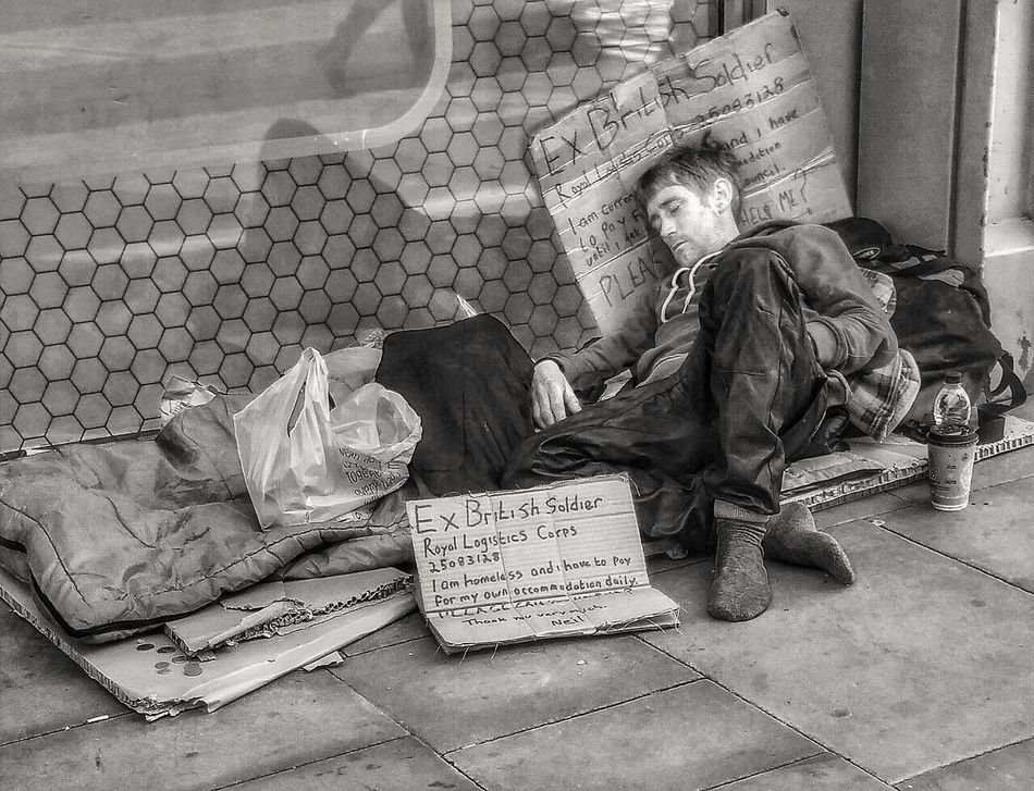 My ongoing series the homeless of Manchester and people of Manchester Social Issues One Person Adults Only Depression - Sadness Cardboard EyeEm Masterclass Malephotographerofthemonth Creative Light And Shadow Portrait Photography The World Through My Eyes Bnw_captures Black And White Photography Monochrome Photography Homeless Of Manchester Uk People Of Manchester Homeless People