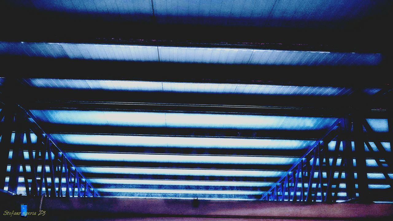 indoors, ceiling, built structure, architecture, corrugated iron, no people, illuminated, day, close-up