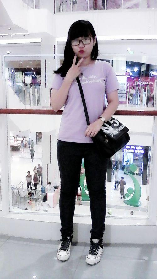 Aeon Mall Canary Binh Duong Purple ♥ Freegirl Smile ✌