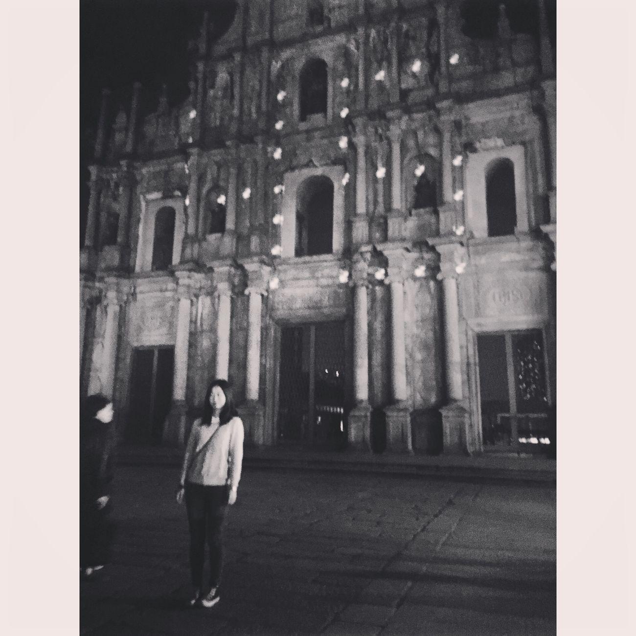 Macau Ruins Of St.Paul's Strange Night EasonChan
