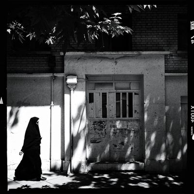 blackandwhite in Tehran by Mohsen Chinehkesh